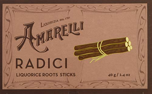 Liquirizia Amarelli Radici, 60 Grammi