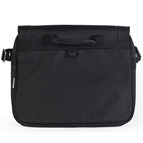 Wenger Messenger Bag mit Laptopfach 16 Zoll Business Basic, schwarz, 24 liters, W73012292