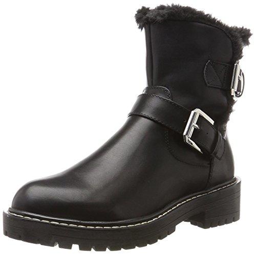 Blink Damen BL 1396 BgumpL Biker Boots, Schwarz (Black/Silver), 36 EU