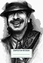Composition Notebook: Santana Workbook for Girls Kids Teens Students for Back to School
