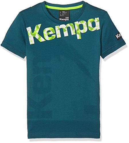 Kempa Bekleidung teamsport core graphic T-shirt, petrol, 164