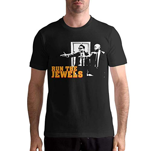 henghuidashi Run The Jewels Men's Soft Short Sleeve Tshirts