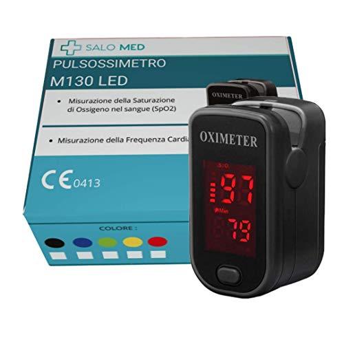 Monitor de saturación de oxígeno, pulsioxímetro de frecuencia cardíaca, dedo Sp02 Monitor de oxígeno en sangre Bajo consumo de energía Oxímetro portátil de alta precisión para niños adultos