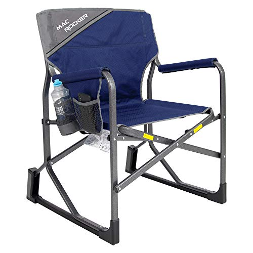 MacSports MacRocker Outdoor Rocker, Blue