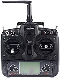 Walkera DEVO 7 2.4G 7CH LCD Screen Radio System RC Transmitter Model 2 for RC Helicopter Airplane