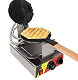 ALDKitchen NP-547 Commercial Electric Bubble Waffle Maker Iron Machine for Egg Hong Kong Waffles 110V US Plug CE Certification