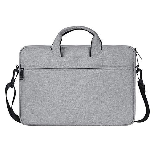 ZTH ST01S Waterproof Oxford Cloth Hidden Portable Strap One-shoulder Handbag for 13.3 inch Laptops(Black) (Color : Light Grey)