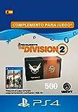 Tom Clancy's The Division 2 - Pack de 500 créditos premium - 500 Credits DLC | Código de descarga PSN - Cuenta española