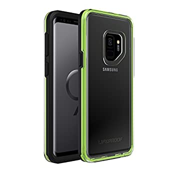 Lifeproof SLAM Series DROPPROOF Case for Samsung Galaxy S9 ONLY - Retail Packaging - Night Flash  Black/Green