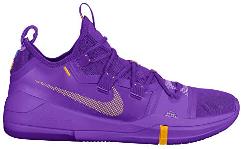 Nike Men's Kobe AD Basketball Shoe (13 M US, Hyper Grape/University Gold)