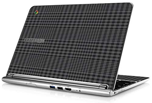 Samsung Chromebook XE303C12 Laptop Skin (Black Plaid)