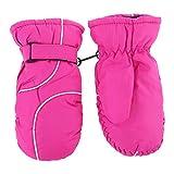 Ninbo Kinder Dicke Warme Nähte Ski Handschuhe Mode Wasserdicht Winddicht Outdoor Kinder Mädchen Jungen Handschuhe -