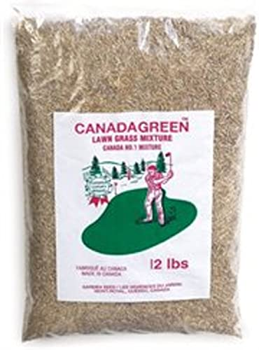 Canada Green Grass Lawn Seed - 12 Pound Bag