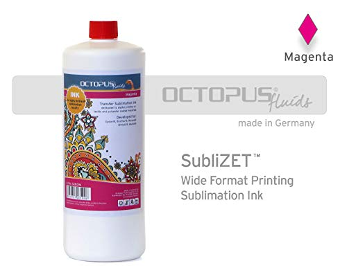 Sublimatie-inkt, Sublimation Ink voor Epson, Brother, Roland, Mimaki, magenta, 250 ml