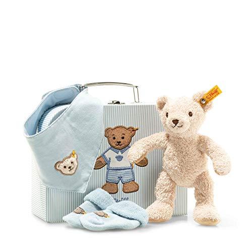 Steiff 241260 Geschenkset Boy 4 tlg, blau