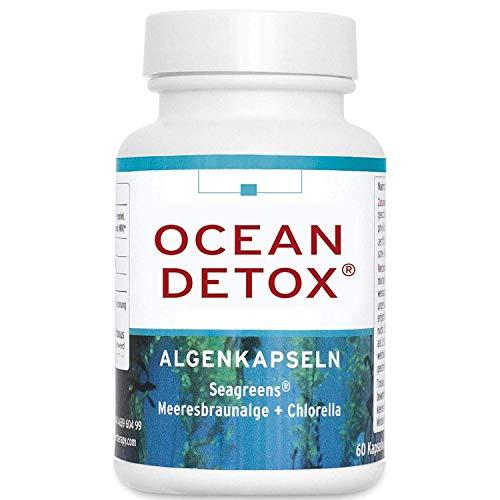 MTS OCEAN DETOX Algen-Kapseln, 60 Braunalgen-Kapseln mit Bio Ascophyllum-Algen, Premium...