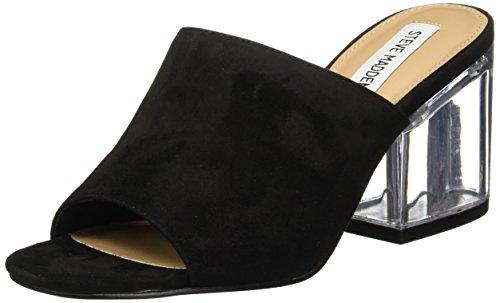 Steve Madden Dalis C Womens Slip-on Heels (10, Black Suede)