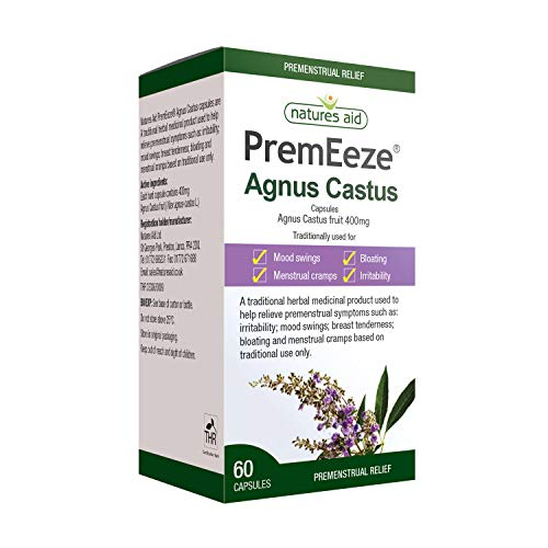 PremEeze Agnus Castus 400mg 60 caps