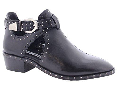 Bronx Stiefeletten mit Cutouts und Nieten Boots schwarz EU39