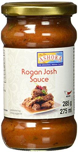 ASHOKA Fertigsauce für Rogan Josh, 6er Pack (6 x 285 g)
