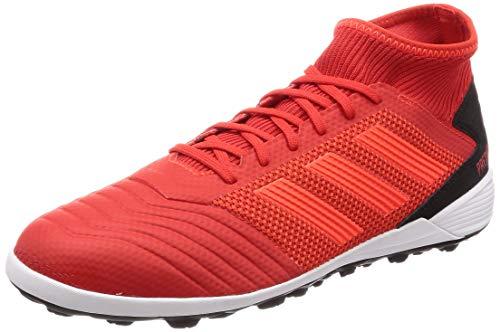 adidas Herren Predator 19.3 TF Fußballschuhe, Mehrfarbig (Rojact/Rojsol/Negbás 000) , 42 EU