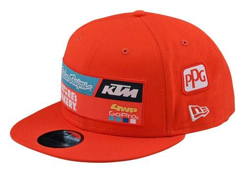 KTM New 2020 Troy LEE Design Team HAT (Orange)