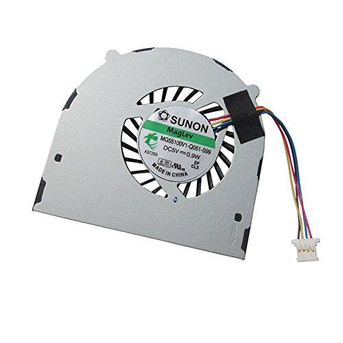 UTS-Shop Ventilador de procesador compatible con Acer Aspire 5810T 4810T 5810 4810