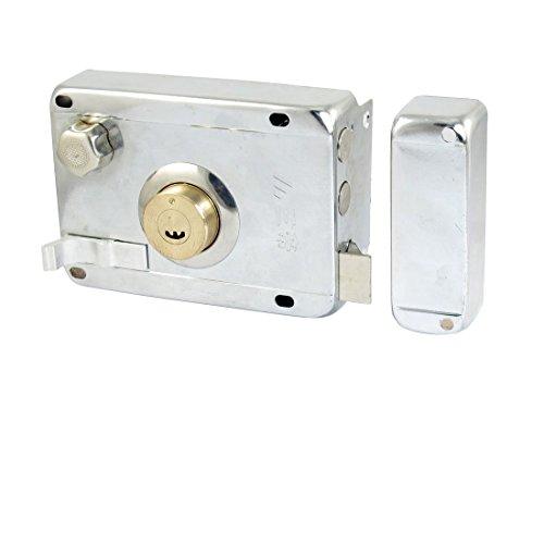 Amico Office Home Metal Bolt Latch Bolt Rim Lock with 5 Keys