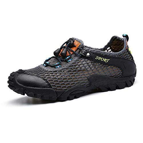 Men Summer Wading Water Shoes Barefoot Shoes-Upstream Aqua Shoes Breathable Anti-skid Mountaineering Man Beach Sandals Quick Dry Swimming Socks, The Best Outdoor Gifts For Your Friends, Brothers, Pare