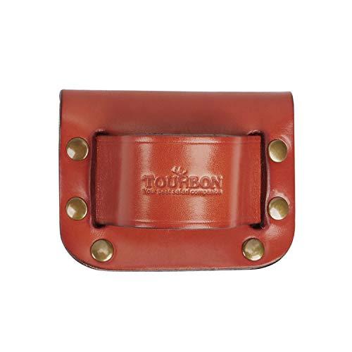 TOURBON Leather Small Hammer Hatchet Holder Holster for Tool Belt