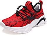 BRONAX Red Shoes for Little Boys Size 13 Sapatos Zapatos para Niños Comfortable Light Running Athletic Sports Sneakers for Little Kids