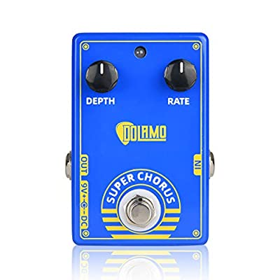 Super Effects Pedal, for Electric Guitar Effect, True Bypass