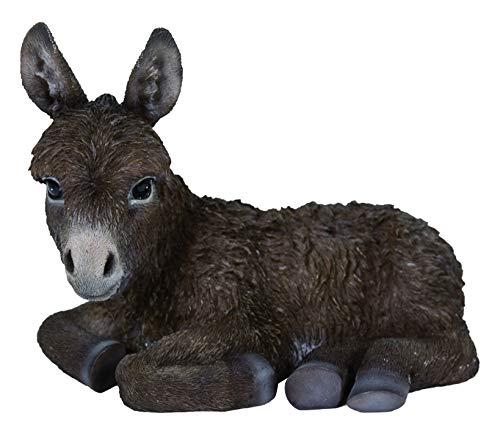 M.E.G Kaarten & Geschenken Levendige Kunsten - Real Life Chocolade leggen Baby Ezel Thuis of Tuin Decoratie (XRL-LDNC-D)