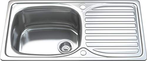 Fregadero de cocina Dihl KS 1004 WST1 1.0 de acero inoxidable con...