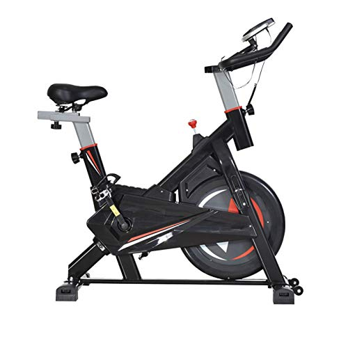 TWW Spinning Bicycle Female Exercise Bike Household Pedal Indoor Exercise Bike Weight Loss Gym Exercise Equipment,Red