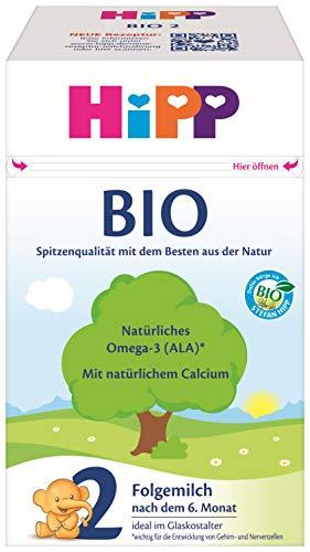 HiPP Bio Milchnahrung 2, 4er Pack (4 x 600 g)