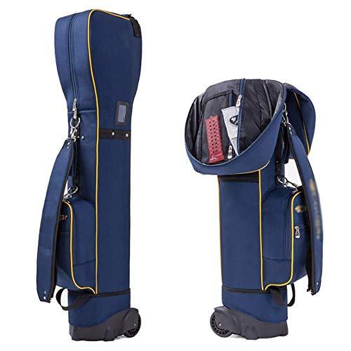Angelay-Tian Bolso de Golf Hombres y Mujeres Multi-Function Tug Bolsa de Aire, Bolsa de Tubo de la Bolsa de Cue de la polea Ligera Resistente al Desgaste
