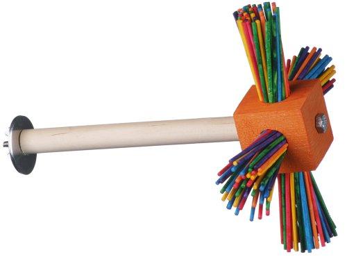 Super Bird Creations 8-1/2 by 6-1/2-Inch Spin-a-roo Bird Toy, Medium