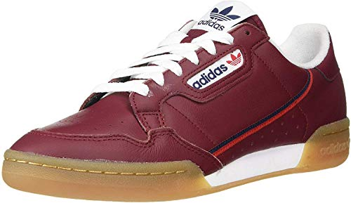 adidas Originals Continental 80, Zapatillas Deportivas. para Hombre, Collegiate Burgundy Collegiate-Camiseta, Color...