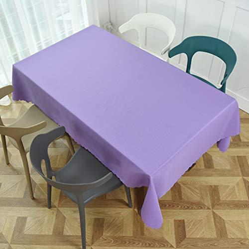 Liujiu - Mantel de mesa con diseño de cuadros, poliéster, 300 cm