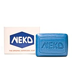 NEKO SOAP helps you keep your skin clean and free from harmful/irritating germs. Phenol is the ingredient that kills the growth of germs and creates an all day long protective layer on your skin. IT HELPS FIGHT AGAINST SKIN INFECTIONS while it also c...
