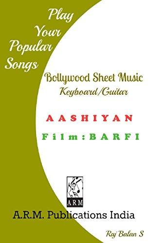 AASHIAN KEYBOARD GUITAR SHEET MUSIC (English Edition)