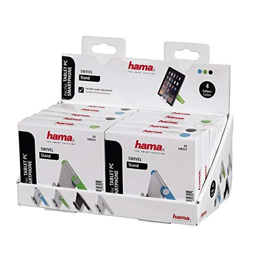 Hama 00108323 Universal Passive Halterung Schwarz, Blau, Grün, Weiß Halterung - Halterungen (Handy/Smartphone, Tablet/UMPC, Universal, Passive Halterung, Schwarz, Blau, Grün, Weiß)
