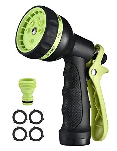 VicTsing B07D8SH7XL Upgraded Version Garden Hose Nozzle, Green