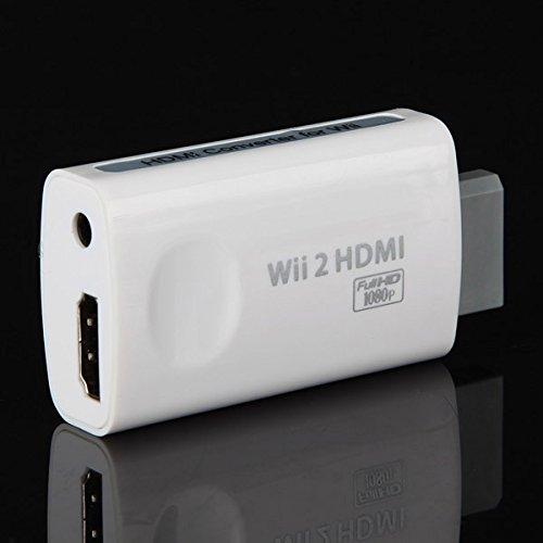 GOZAR Wii HD Aansluiting HD HDTV Output Convertor Adapter