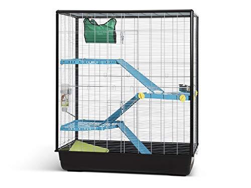 VADIGRAN Savic Zeno 3 Empire Cage Grand pour Rongeur Chrome 100 x 50 x 116 cm