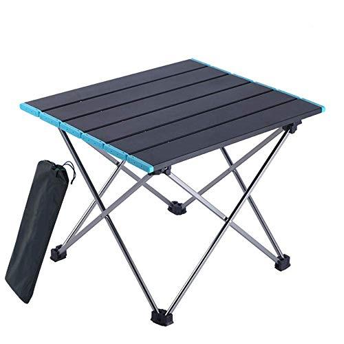 1yess Feststiegen Aluminium Layout Tabelle Legierung Tischbeine, leichte und Faltbare Tisch mit Aufbewahrungstasche verwendet for Wandern, Garten, Strand, Grill, Angeln, Camping, Kochen 8bayfa