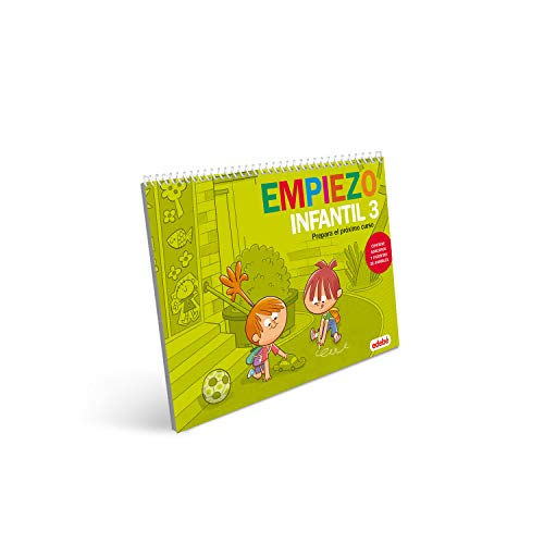 EMPIEZO INFANTIL 3: Prepara el próximo curso (contiene adhesivos y figuritas de...