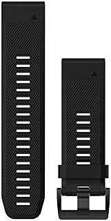 Garmin Acc,Fenix 5X 26mm Quick Fit Black Silicone Band