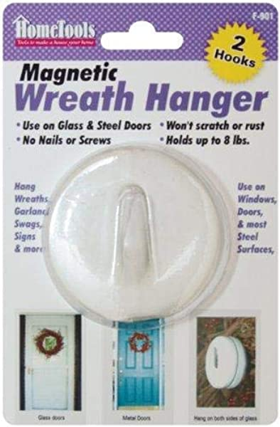 Magnetic Wreath Hanger 2 1 2 White F 901